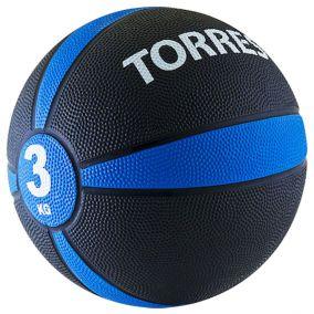 Медбол (медицинбол) Torres 3 кг.