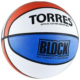 Баскетбольный мяч Torres Block