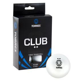 Мяч для настольного тенниса Torres Club **